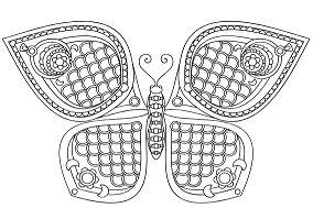Butterfly Mandala 11