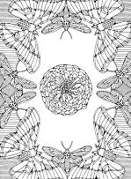 Butterfly Mandala 2
