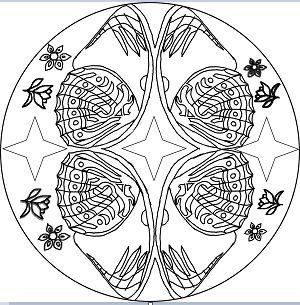 Butterfly Mandala 7