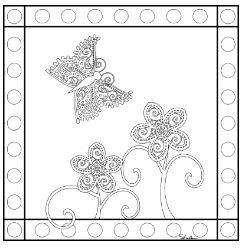 Butterfly Mandala 8
