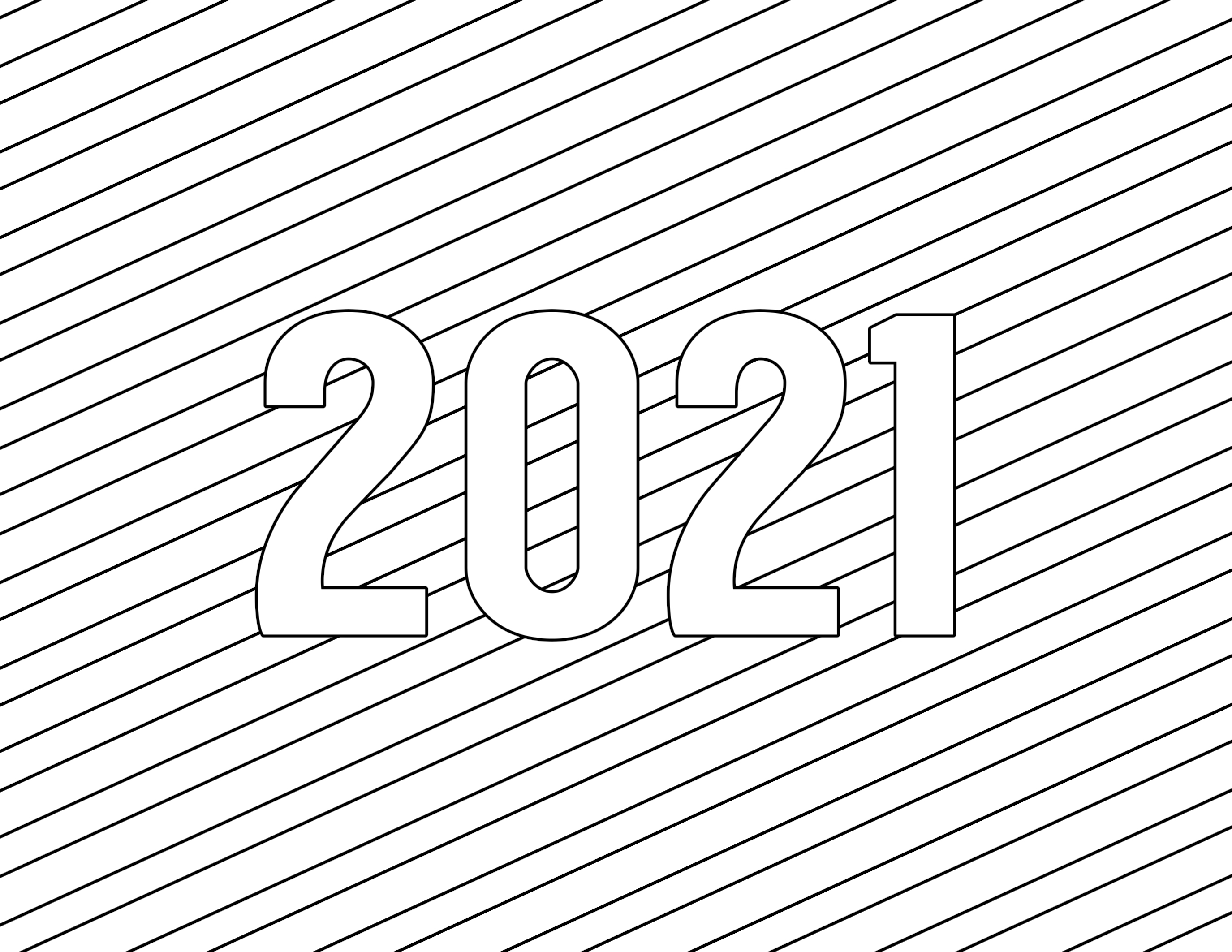 Calendar New Year For 2021 Coloring Pages - Calendar For ...