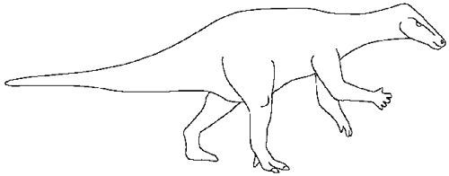 Camptosaurus Dinosaur 1