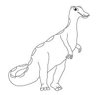 Camptosaurus Dinosaur 2