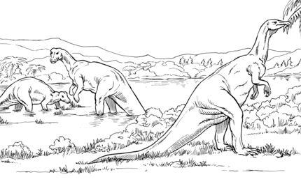 Camptosaurus Plant Eating Dinosaurs