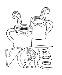 Candy Cane 1 Coloring Page