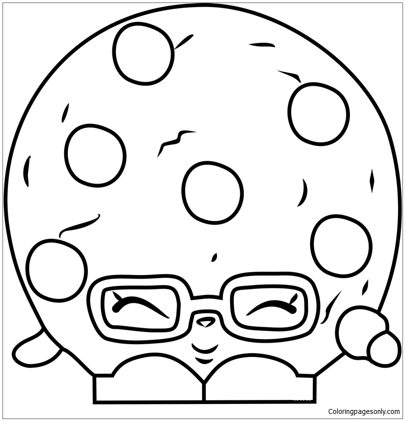 Candy Cookie Shopkins Coloring Pages - Toys And Dolls Coloring Pages - Coloring  Pages For Kids And Adults