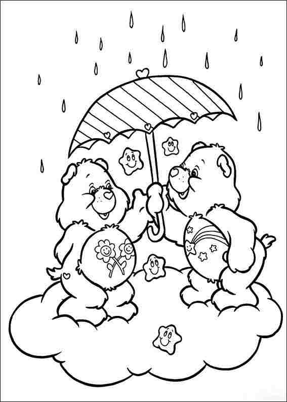 Care Bears Printable Coloring Pages Coloring Page