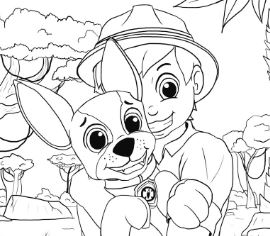 Paw Patrol 29 Coloring Page Free Coloring Pages Online