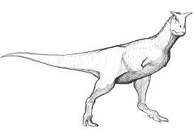 Carnotaurus Sastrei Coloring Page