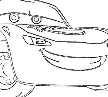 Cars Lightning McQueen Sad