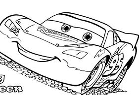 Cars The Lightning McQueen
