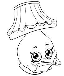 Cartoon Lamp Shopkins