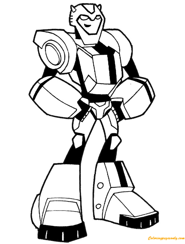 Cartoon Transformers Bumblebee Coloring Pages Transformers Coloring Pages Free Printable Coloring Pages Online
