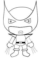 Cartoon Wolverine