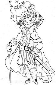 Cats for kids Coloring Page