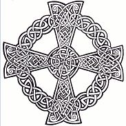 Celtic Mandala Coloring Page