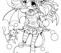 Chibi Anime 12 Coloring Page