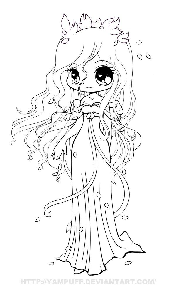 Chibi Anime 1 Coloring Pages