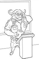 Chief Bogo From Zootopia 1