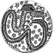 Chinese Mandala Dragon