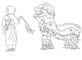 Dragon Head 2 Coloring Page - Free Coloring Pages Online