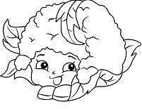 Chloe Flower Shopkins Coloring Page