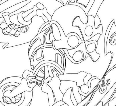 Chopchop From Skylanders Coloring Page