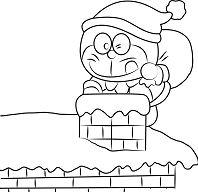 Christmas Doraemon
