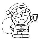 Christmas Santa Doraemon