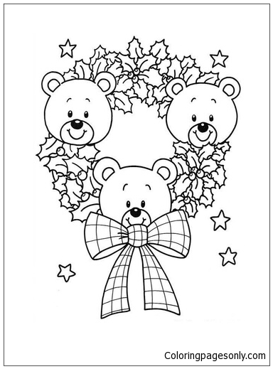 Free Teddy Bear Pictures To Color, Download Free Clip Art, Free ... | 519x384
