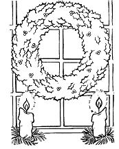 Christmas Wreath With Candles