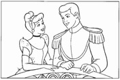 Cinderella And The Prince In The Party  from Cinderella