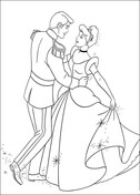 Cinderella is Dancing With The Prince  from Cinderella