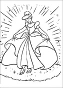 Cinderella With Her Gown from Cinderella