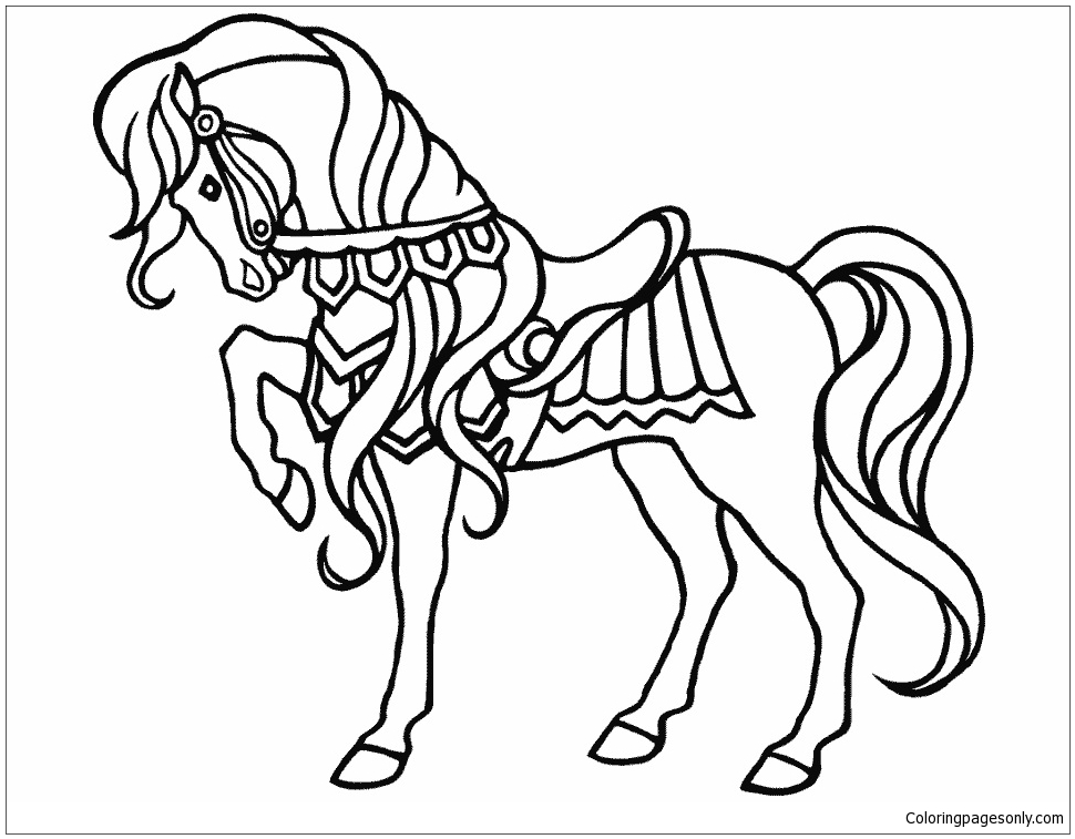 20+ Free Printable Circus Coloring Pages - EverFreeColoring.com | 757x970
