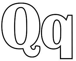 Classic Letter Q