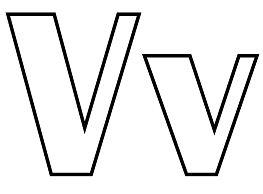 Classic Letter V