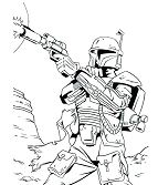 Clone Trooper Bounty Hunter Star Wars