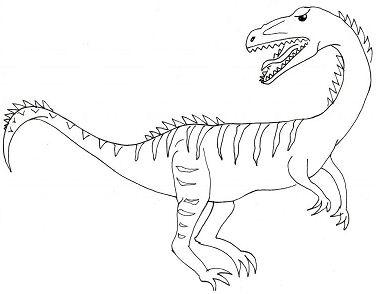 Coelophysis Dinosaurs 1