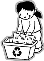 Collecting Paper For Recycling