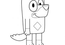 Rusty Coloring Page