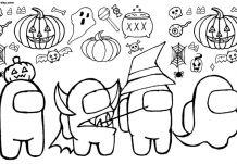 Among Us Halloween Characters
