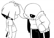 Undertale | Print and Color.com