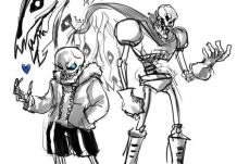 Print undertale papyrus | Dog coloring book