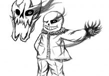 Coloring Undertale Sans Fight You Ll Never Forget