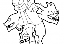 Undertale Gaster Coloring Page