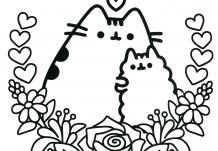Pusheen Coloring Book Pusheen Pusheen the Cat | Pusheen