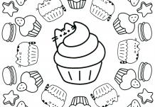 Pusheen Coloring Book Pusheen Pusheen the Cat | Cupcake