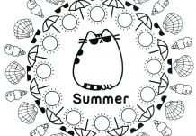 Coloring Picture Powerpuff Girls Coloriages With Pusheen