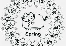 Pusheen Coloring Pages Coloringpagesonly Com
